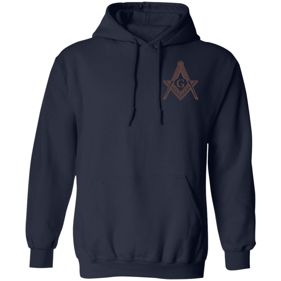 Classic Square & Compass Logo Pullover Hoodie