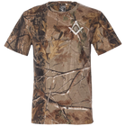 Square & Compass Camouflage T-Shirt [Sale]   Size XLarge