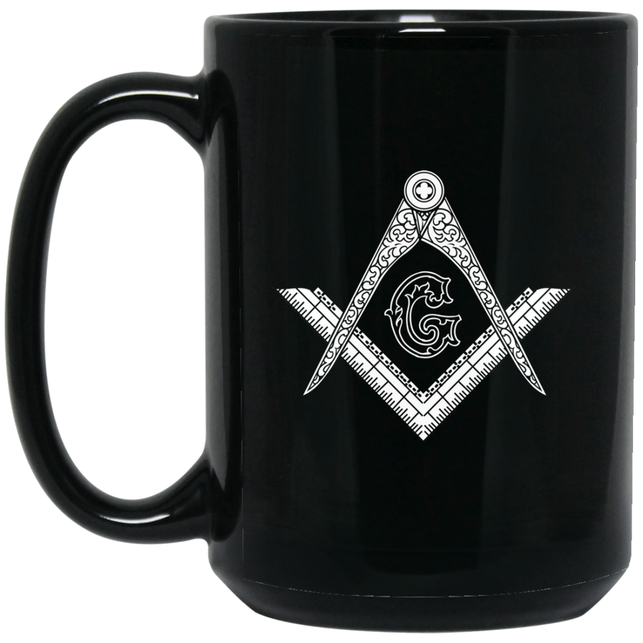 Square & Compass Large Mug