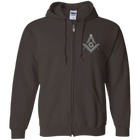 Square & Compass Zip-Up