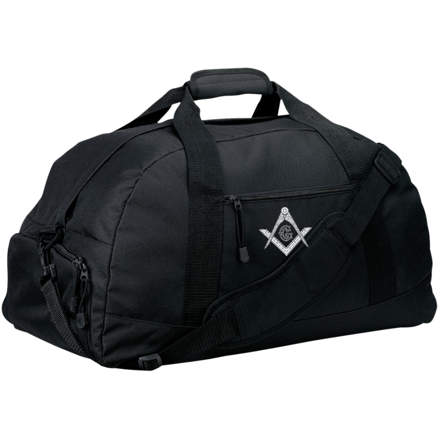 Square & Compass Large Duffel Bag