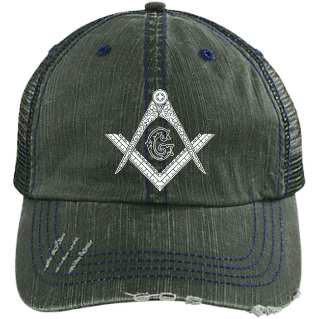 Square & Compass Trucker Cap [Sale]  One Size