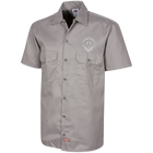 Square & Compass Short Sleeve Workshirt (Vintage Compass)