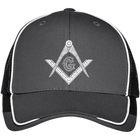 Square & Compass Mesh Back Cap