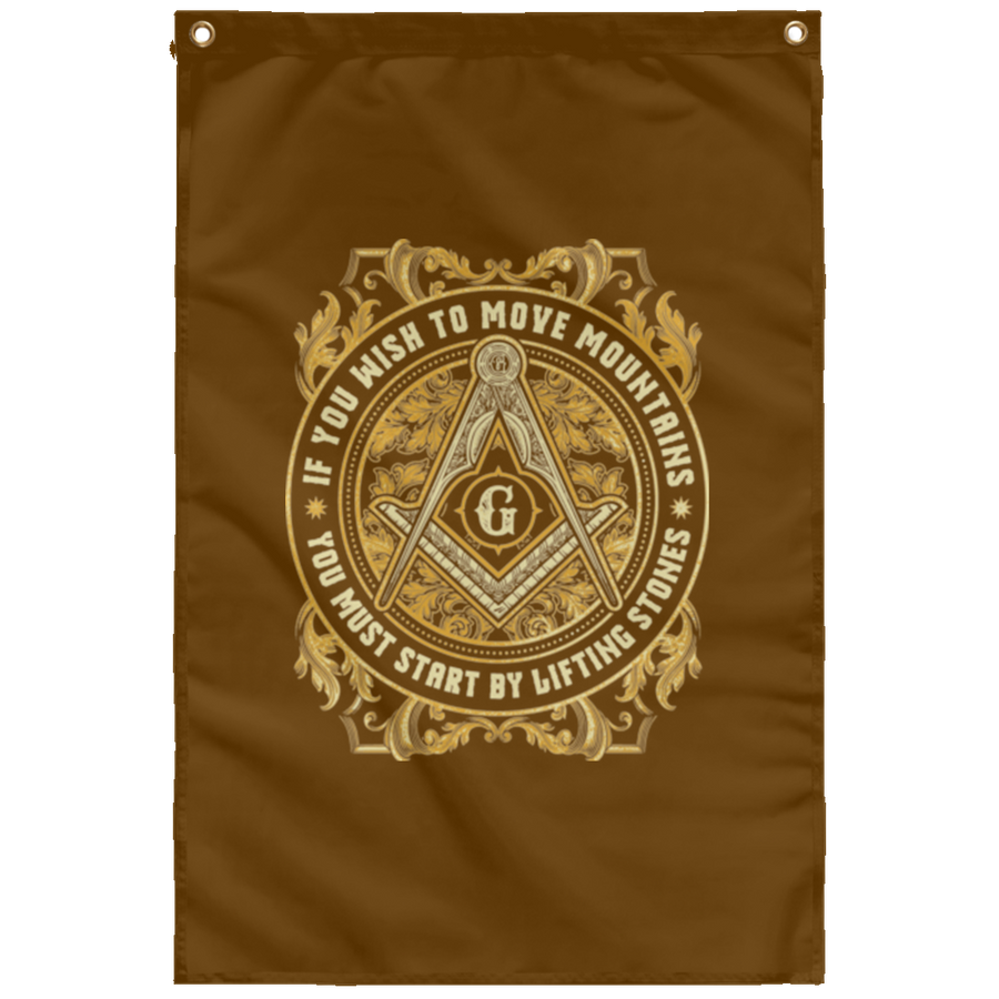 Freemason Logo Wall Flag