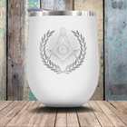 Decorated Square & Compass - Small Cup