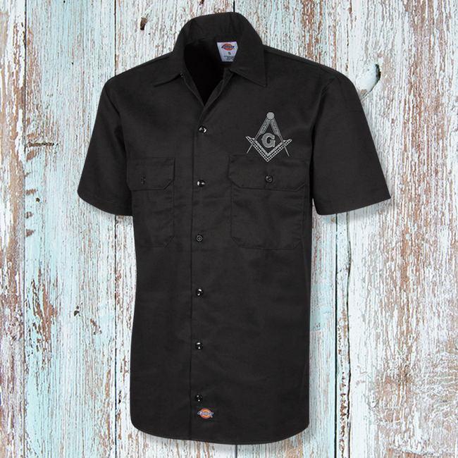 Square & Compass Short Sleeve Workshirt