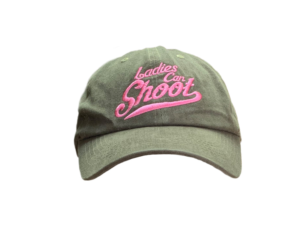 Ladies Can Shoot Ball cap