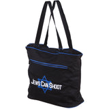 """Nothing says Never Again like an armed Jewish mother"" Tote bag"