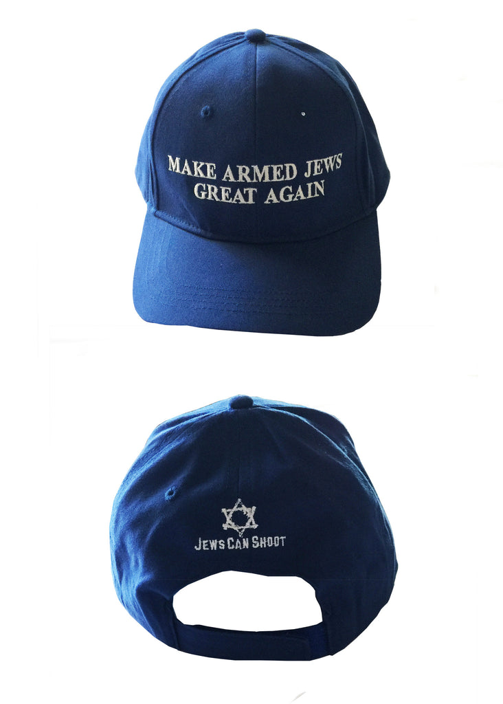 Ball Cap - Make Armed Jews Great Again