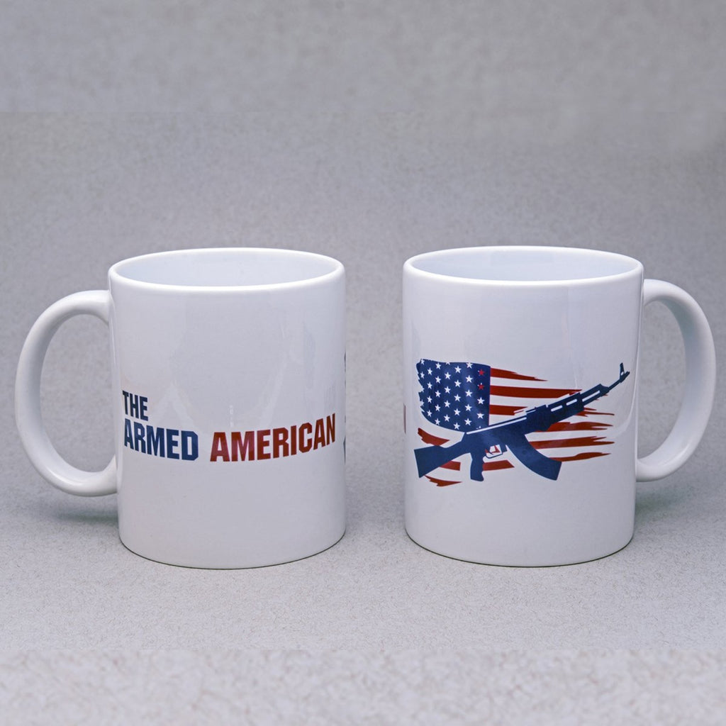 Patriotic Armed American - Ceramic Mug