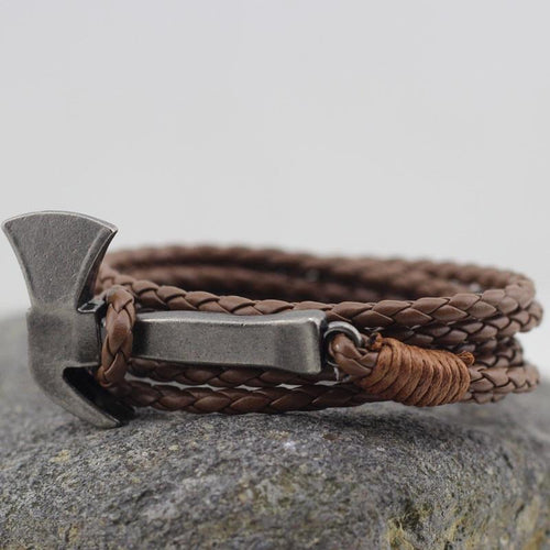 Axe Bracelets- Leather (Unisex)