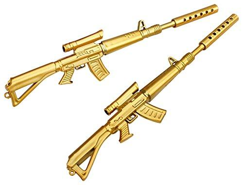 5 Gold Novelty Sniper Rifle Pen (Free)
