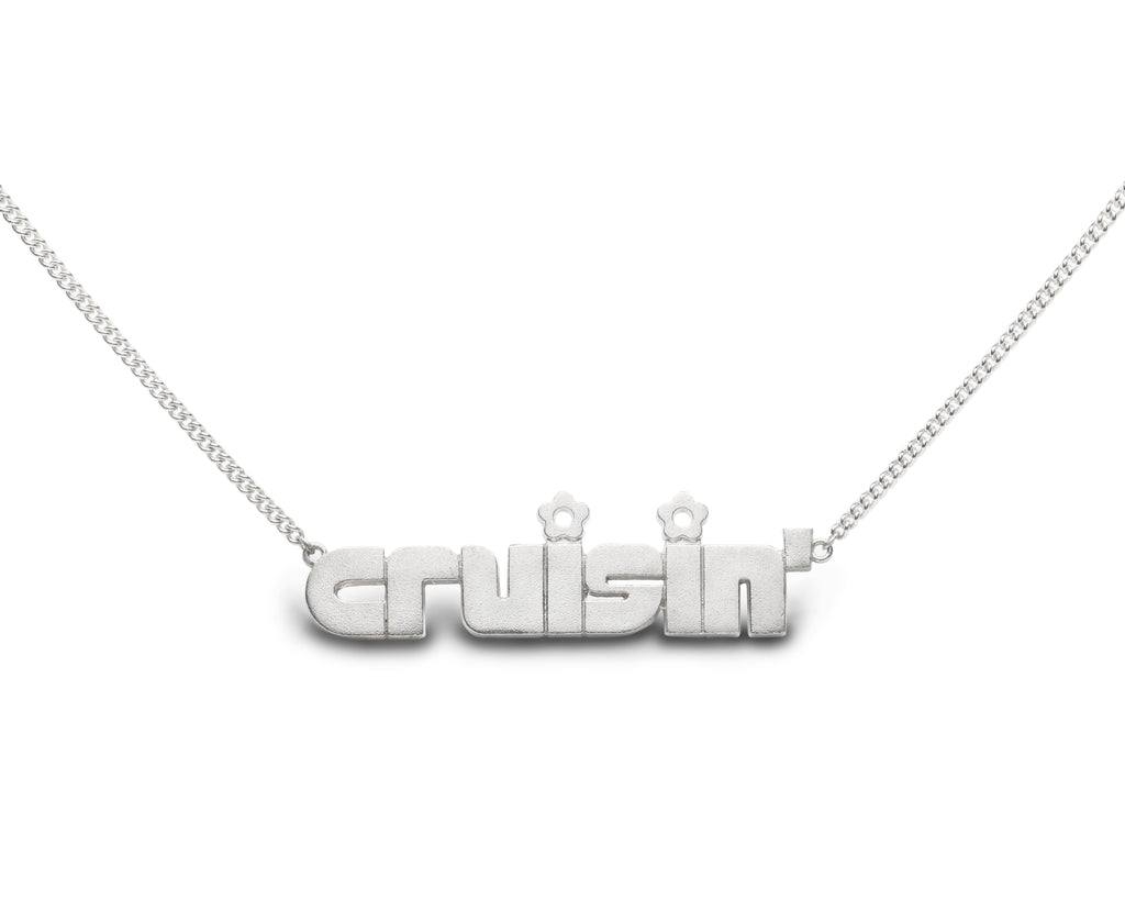 cruisin' - sterling silver necklace