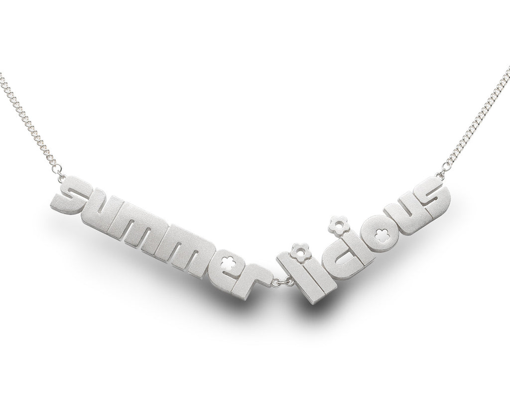 summer licious - sterling silver necklace