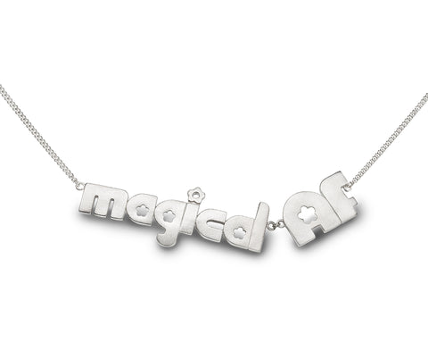 magical AF - sterling silver necklace