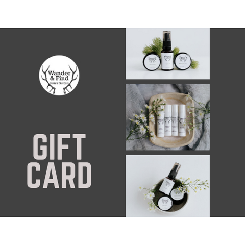 Wander & Find Gift Card