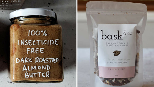 NEW PRODUCTS - Dark Chocolate Granola & Almond Butter