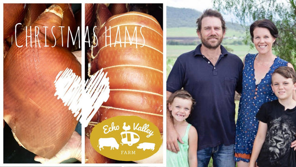 Pastured Hams for Christmas! Pre-order now