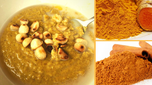 Golden Turmeric Porridge
