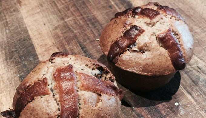 Make your own Healthy Hot Cross Buns