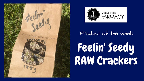 Product of the week: Feelin' Seedy RAW Crackers