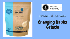 Product of the week: Changing Habits Gelatin