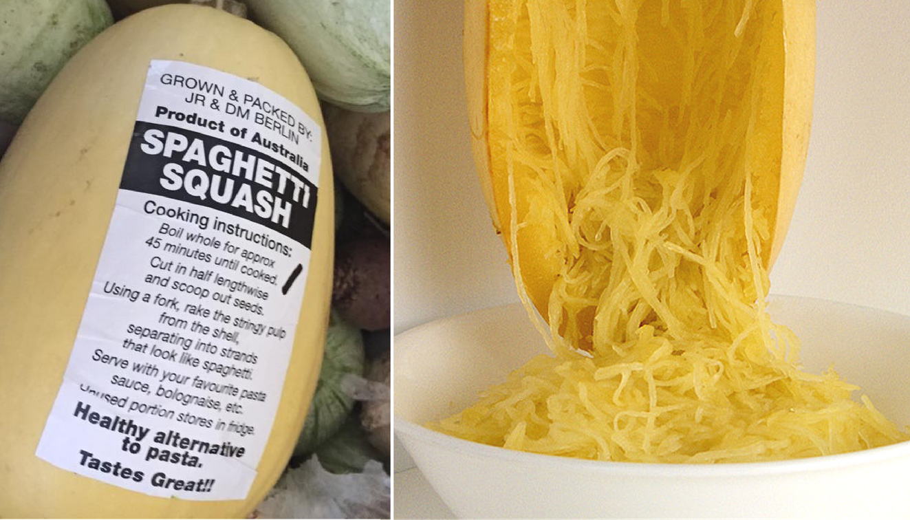 What to do with spaghetti squash