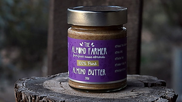 NEW PRODUCT: The Almond Farmer Almond Butter