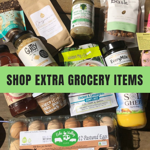 Extra grocery items