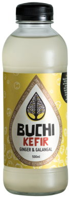 Buchi Kombucha Organic Ginger and Galangal Water Kefir available for collection or home delivery in Brisbane