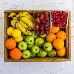Large Fruit setbox sprayfree organic local