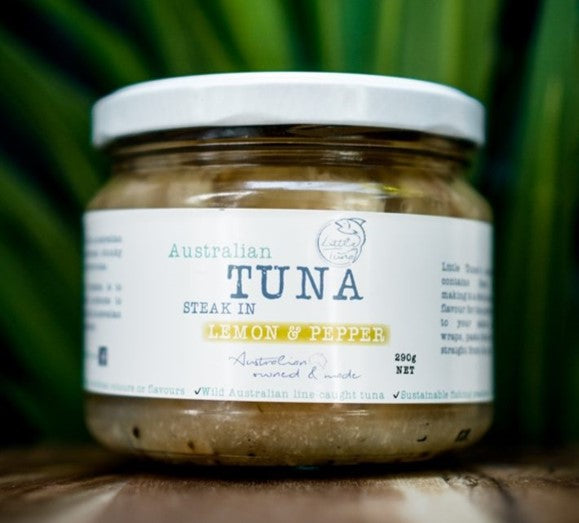 Little Tuna - with Lemon and Pepper (290gm)
