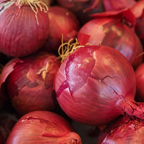 Onions - red (500gm)