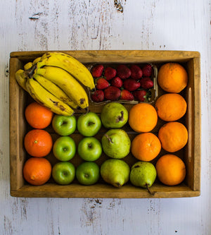 Small Fruit set box sprayfree organic local