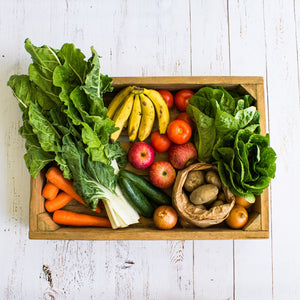 Small Vegetable fruit set box sprayfree organic local