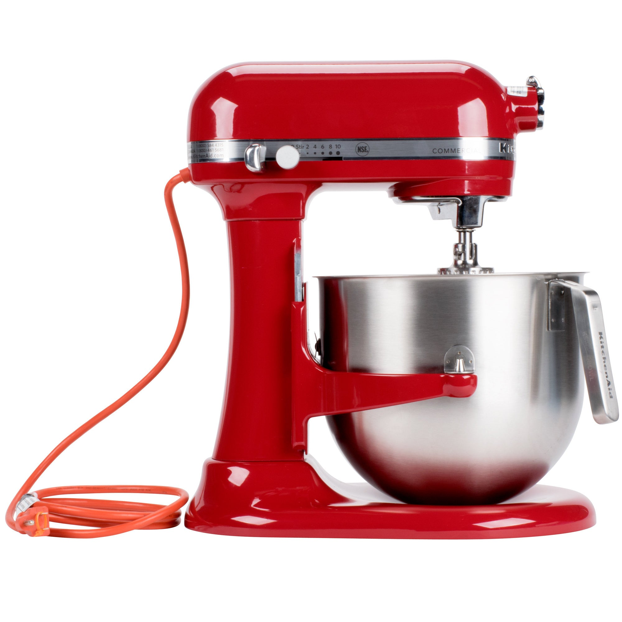 kitchenaid 8 quart commercial stand mixer. kitchenaid® nsf certified® commercial series 8-qt bowl lift stand mixer - the kitchenaid 8 quart f