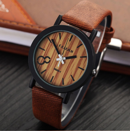 "VINTAGE ""WOODEN"" WATCH"