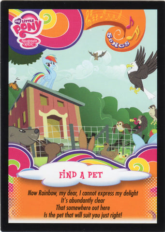 My Little Pony Trading Card #21 Find a pet