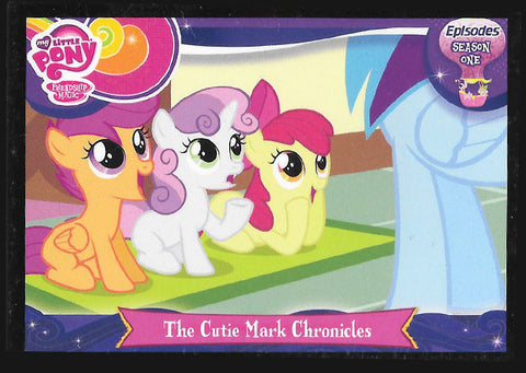 My Little Pony Trading Card #E23 The Cutie Mark Chronicles
