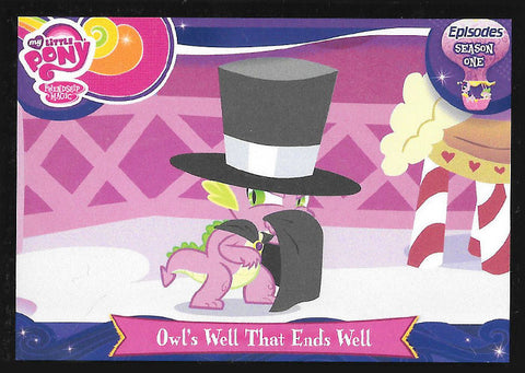 My Little Pony Trading Card #E24 Owl's well that ends well