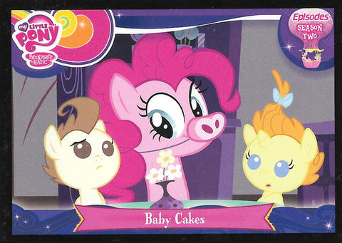 My Little Pony Trading Card #E39 Baby Cakes