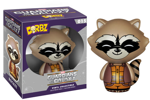 Funko Guardians of the Galaxy Rocket Raccoon Dorbz Figure - Theblankflank