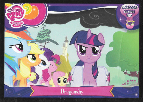 My Little Pony Trading Card #E7 Dragonshy