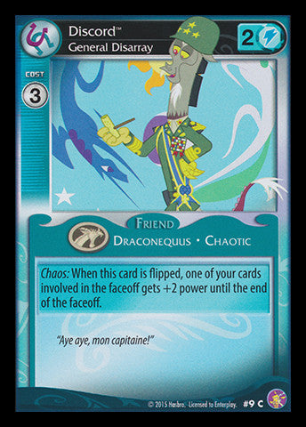 My Little Pony Card Game #09 Discord - Common