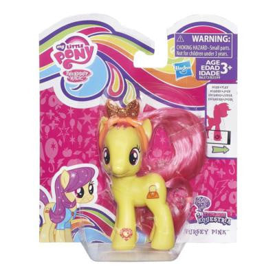 "My Little Pony 4"" Brushable Pursey Pink - NIB - Theblankflank - 1"
