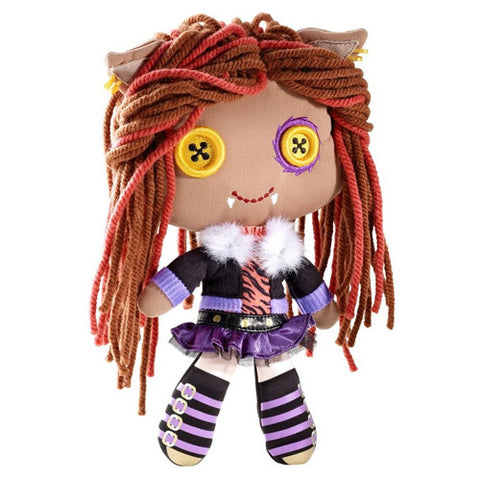 Monster High Plush: Yarn Hair - Clawdeen Wolf - Theblankflank
