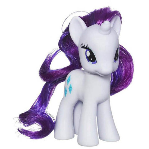 "My Little Pony 4"" Brushable - Rarity - OOB - Theblankflank"