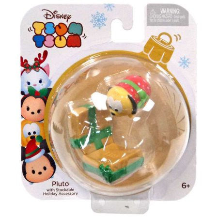 Disney Tsum Tsum Holiday Series Pluto Minifigure Pack