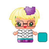My Mini Mixie q's Glasses Girl - Theblankflank